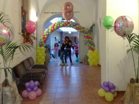 Il girasole animazione addobbi festoni palloncini for Addobbi per laurea